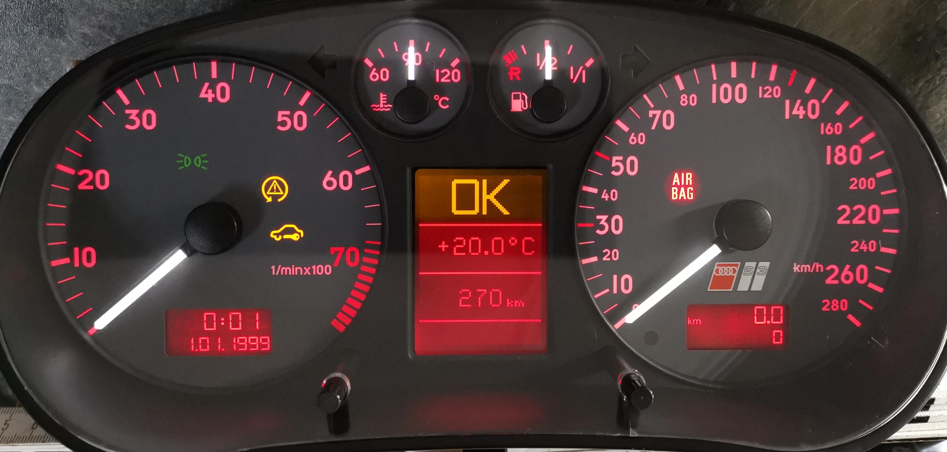 Audi A4//S4 8D B5 Tacho Zeigerausfall Reparatur